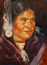 Native Maiden by Charlene Teters Slumtah