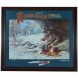 Remington Woodsman Bullet Knife Dealer Poster 1985 - 2 of 4