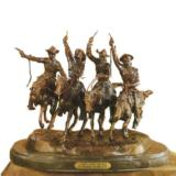 Coming through the Rye by Frederic Remington (Medium)