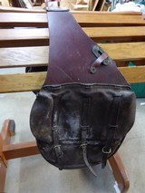 US Cavalry Saddle Bags with Canvas Liners