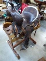 Prescott Double Loop Saddle 1918