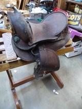 Western Display Saddle