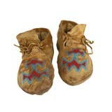 Nez Perce Moccasins - 1 of 2