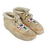 Coeur d'Alene Tribe Moccasins - 1 of 2