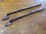 Bayonets Set of 2 with Scabbards
