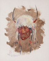 Indian Portrait/Sketch by Ace Powell