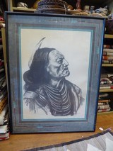 """""""Native American Dignity"""" print by Jack L. Gross Limited Edition"""