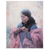 Cree Finery by Howard Terpning