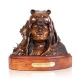 """Endangered Americans"" Bronze by John Geis - 1 of 5"
