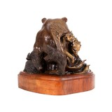 """Endangered Americans"" Bronze by John Geis - 2 of 5"