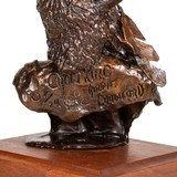 """Crow King"" Bronze by Ralph Crawford - 5 of 5"