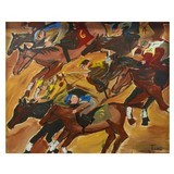 """""""Horse Race"""" by Tina Ferro - 2 of 2"""