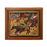 """""""Horse Race"""" by Tina Ferro - 1 of 2"""