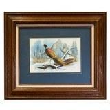 Snow Storm Pheasants by Glenn Emmons - 2 of 4