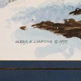 Snow Storm Pheasants by Glenn Emmons - 4 of 4