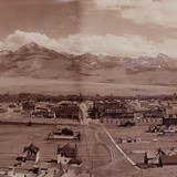 Landscape Photograph of Livingston, Montana 1898 - 4 of 4