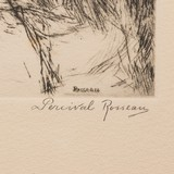 Close Work by Percival Rossau Etching - 3 of 5