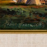 Blackfeet Camp by Heinie Hartwig - 4 of 5