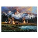 Blackfeet Camp by Heinie Hartwig - 1 of 5