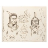 Chief Joseph and Sitting Bull by J. R. Lucas - 1 of 5