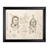 Chief Joseph and Sitting Bull by J. R. Lucas - 2 of 5