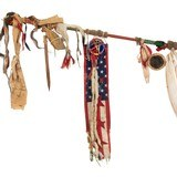 Sioux Ghost Dance Staff - 3 of 5