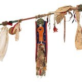Sioux Ghost Dance Staff - 4 of 5