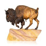Buffalo Bull by Leslie Welliver