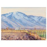 Loafer Mountain from Springville by Kimbal Warren - 1 of 5