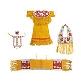 Plateau Dress with Matching Horse Regalia - 1 of 8