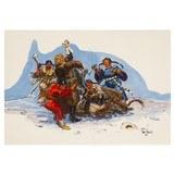 Wrath of Cheyenne Woman by David Powell - 1 of 5