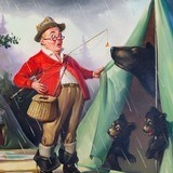 Humorous Fishing Series by Hy Hintermeister - 3 of 6