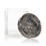 Sterling Lidded Humidor - 1 of 3
