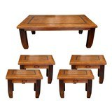 rancher's collection nesting coffee table