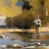 """""""Afternoon on the North Fork"""" Oil Painting by Greg Parker - 3 of 4"""