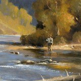 """""""Afternoon on the North Fork"""" Oil Painting by Greg Parker - 2 of 4"""