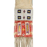 Native American Sioux Beaded Pipe Bag - 4 of 5