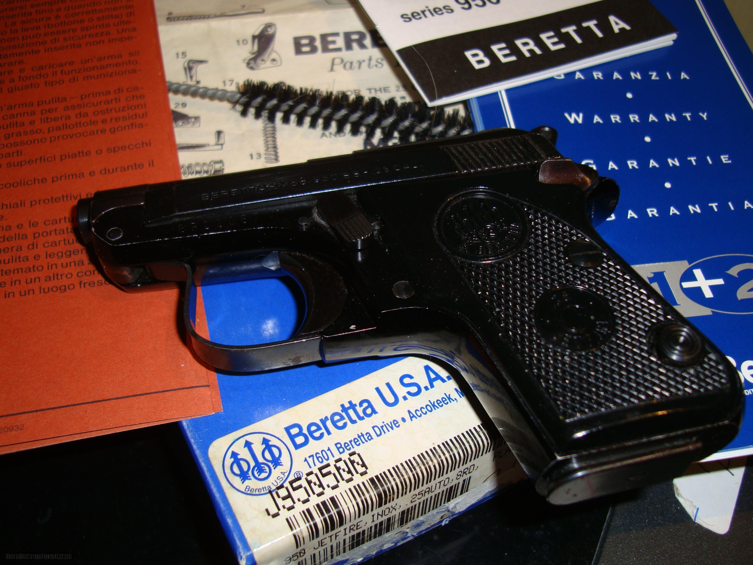 Beretta model 950 serial numbers   Warranty & Serial Number