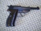 Walther P38 95% condition matching numbers WW11 Nazi markings AC44