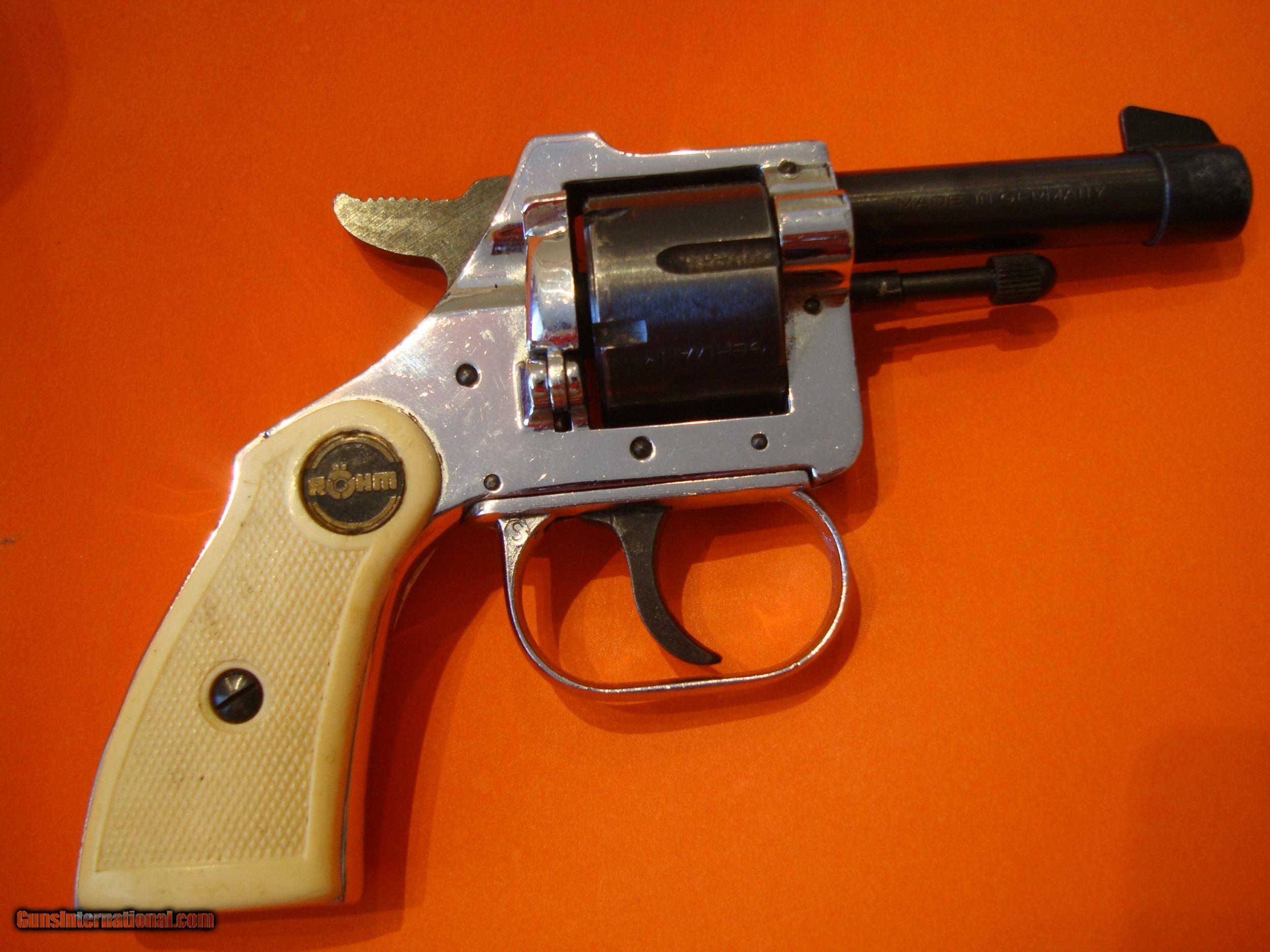 ROHM GMBH Sontheim/BRZ German 22 Short Pistol 1965 Mint