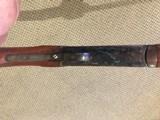"Single 12 Gauge Shotgun nice engraving Spain 30"" Barrel 95% condition - 11 of 15"