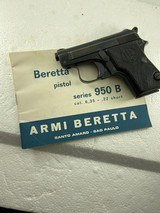 Beretta RARE 950B made inITALY 22 short MINT Like new condition See pictures - 1 of 9