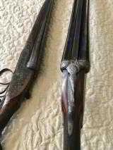 Mon Gondre Mainwairings Pair of Double Barrel Shotguns - 3 of 10