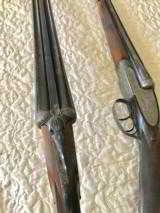 Mon Gondre Mainwairings Pair of Double Barrel Shotguns - 2 of 10