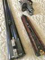 Mon Gondre Mainwairings Pair of Double Barrel Shotguns - 8 of 10