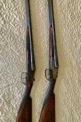 Mon Gondre Mainwairings Pair of Double Barrel Shotguns - 1 of 10