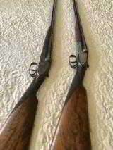 Mon Gondre Mainwairings Pair of Double Barrel Shotguns - 4 of 10