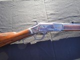 WINCHESTER 1873, 38-40 CAL, OCTAGON, RESTORED, ANTIQUE