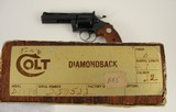 Colt Diamondback .22 ANIB 4'' 1971 - 98+% Gunfighter Hollywood Shop - 19 of 20