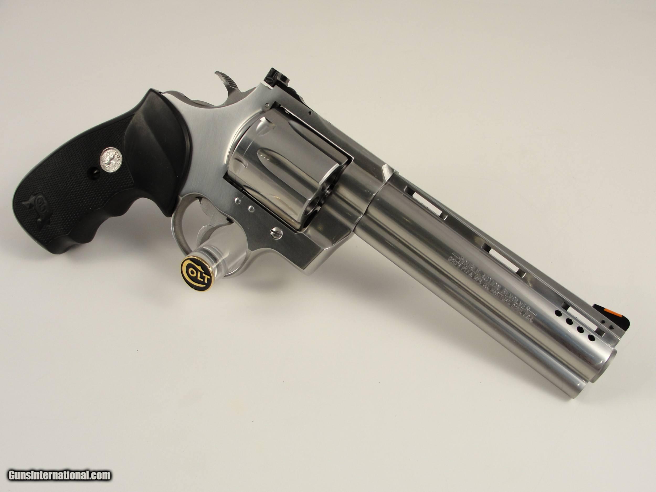 Colt Anaconda  44 Magnum SCARCE 6'' Custom Shop Ported